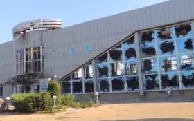 «Руський мир» перетворив аеропорт Луганська в нашпиговані мінами руїни: з'явилося відео