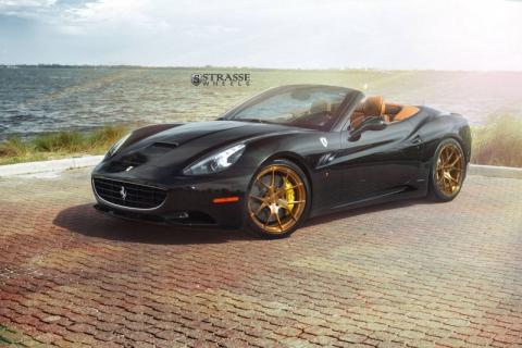 Ferrari California на дисках від Strasse Wheels (10 фото) (2)