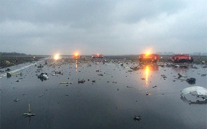 В России разбился Боинг с украинцами на борту: видео с места катастрофы