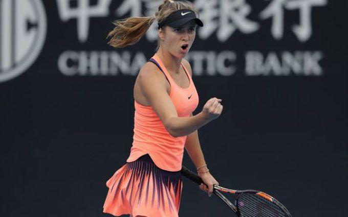 Українська тенісистка вийшла у 1/8 фіналу супертурніру в Китаї