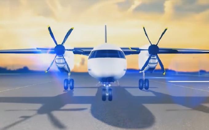 Порошенко похвастался новым украинским самолетом: опубликовано видео