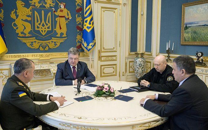 """Порошенко выступил с заявлением по поводу пожара на """"Интере"""""""