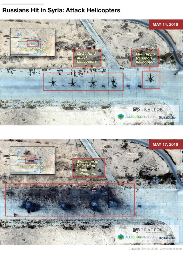 ІДІЛ знищив частину російської авіації в Сирії: фото з супутника (2)