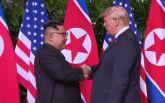 Историческая встреча Трампа и Ким Чен Ына: первые подробности, фото и видео