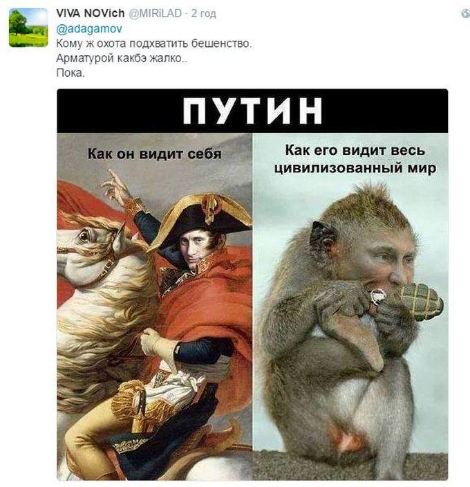Путіна не бояться, ним гидують: відео з заявою президента Росії підірвало мережу (2)