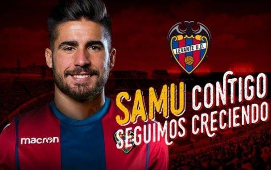 Самуэль Гарсия расторг контракт с Рубином и перешел в Леванте