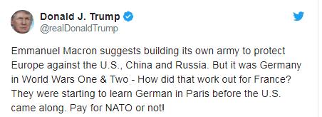 Меркель выступила за создание армии для защиты от России и США: Трамп жестко ответил (1)