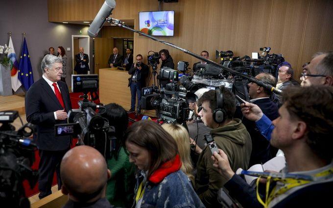 Порошенко пообещал поддержать Зеленского, но при одном условии