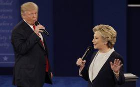 """Клінтон все-таки """"перемогла"""" Трампа: соцмережі схвильовані"""
