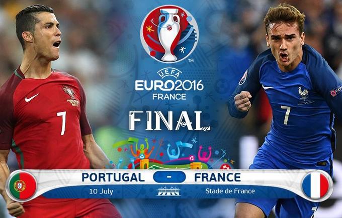 Португалія - Франція: прогноз букмекерів на фінал Євро-2016