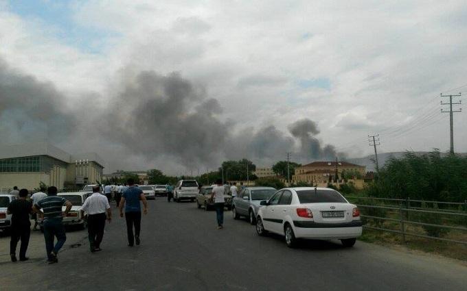 На військовому заводі в Азербайджані стався вибух: з'явилися фото і відео