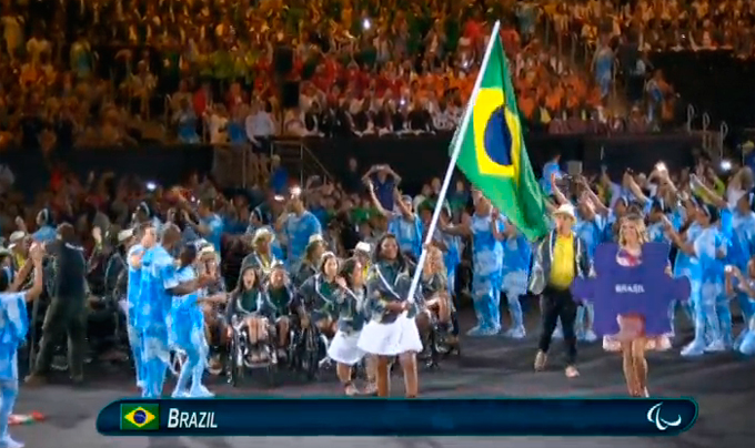 Церемония открытия Паралимпиады-2016: фото и видео из Рио (40)