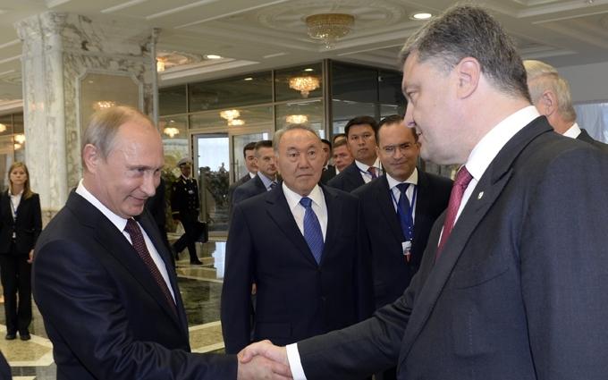Путін виступив із гучною заявою про Порошенка і Донбас