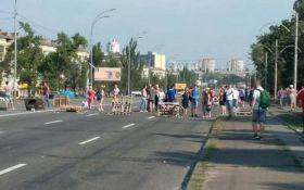 Кияни в знак протесту перекрили Харківське шосе: з'явилися фото і відео