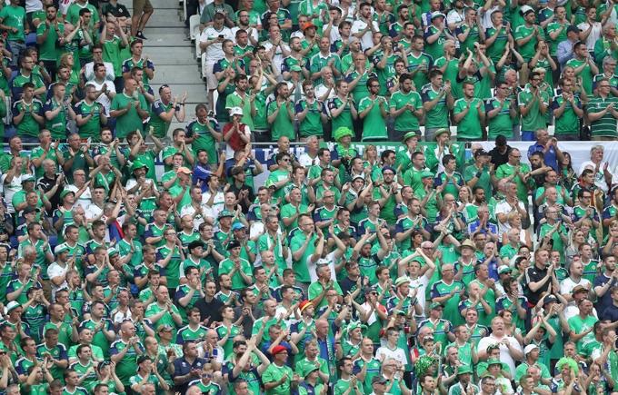 На матче Украина - Северная Ирландия произошла трагедия