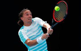 Украинский теннисист с боем вышел во второй раунд Australian Open