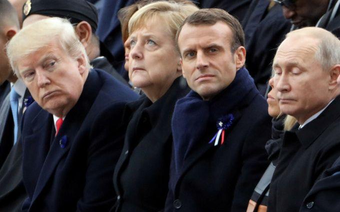 Путін, Трамп і Макрон виступили з терміновою заявою