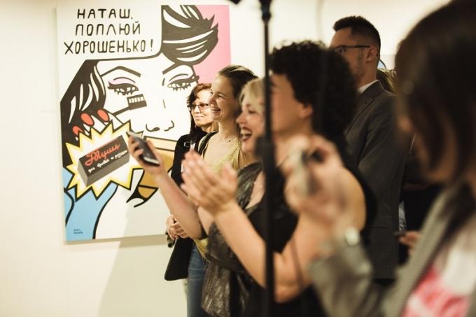«Шик-модерн»: у Києві відкрилась виставка робіт молодої української художниці (2)