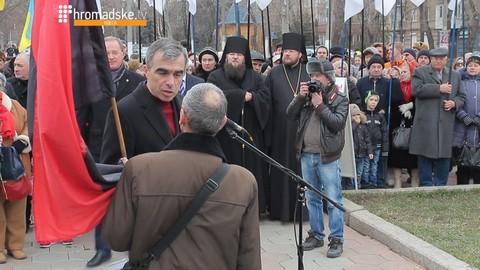 В Одессе произошла стычка из-за русского языка: опубликовано видео (3)