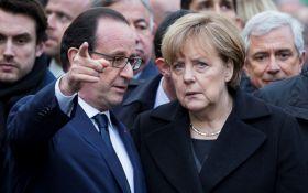 Трамп кидає виклик: Меркель і Олланд зробили спільну заяву