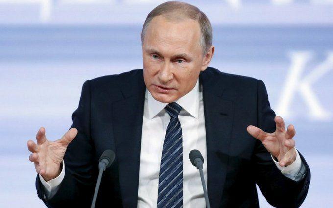 Путин заявил оприостановке участия РФ вракетном договоре