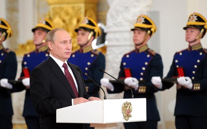 Путін виступив з пафосною промовою: соцмережі  відповіли гнівом і насмішками