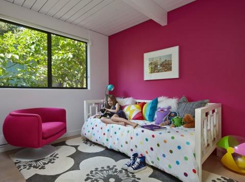 Круті ідеї, який допоможуть з оформленням дитячої спальні в стилі Mid-centry modern (17 фото) (7)