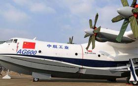 Крупнейший в мире самолет-амфибия совершил первый полет: появилось видео