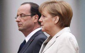 У Меркель и Олланда сделали грустные для Путина заявления