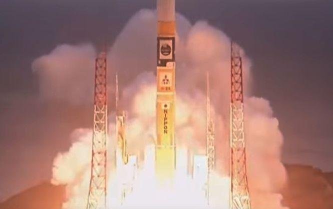 Японский спутник Astro-H был успешно выведен на орбиту (видео)