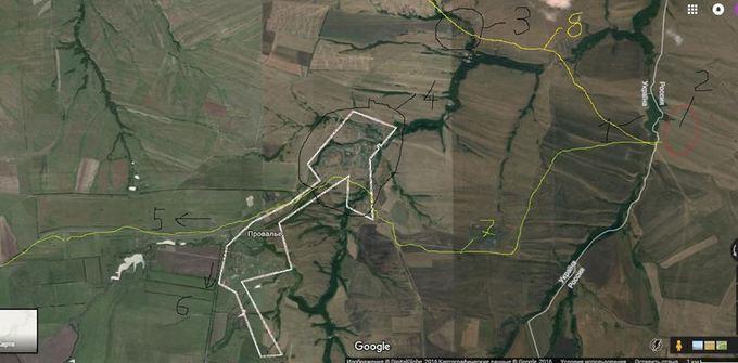 У мережі показали маршрут, яким російські війська заходять в Україну: опублікована карта (1)