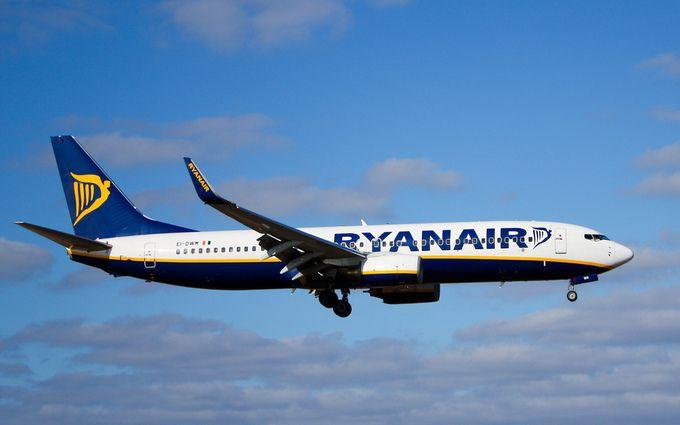 Ryanair может выйти на внутренний рынок авиаперелетов в Украине
