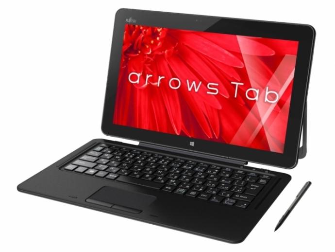 Fujitsu представила 12,5-дюймовий гібридний планшет Arrows Tab RH77 / X