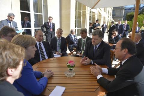 АП: в Парижі Україні нав'язували особливий статус Донбасу