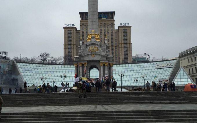 На Майдане остаются палатки: появилось новое фото