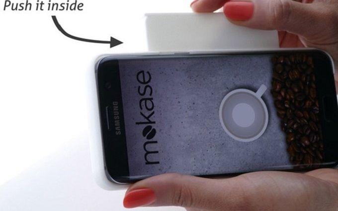 Дизайнеры придумали чехол для смартфона, который варит кофе: опубликовано фото и видео