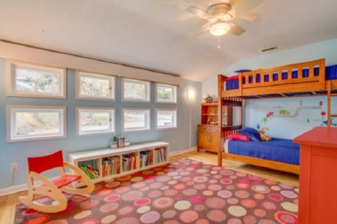 Круті ідеї, який допоможуть з оформленням дитячої спальні в стилі Mid-centry modern (17 фото) (15)