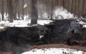 Спалення музею УПА під Львовом: з'явилися відео і подробиці від поліції