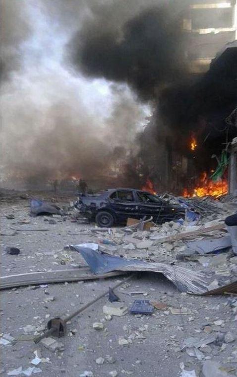 В Сирии произошел взрыв, десятки погибших: фото с места событий (3)