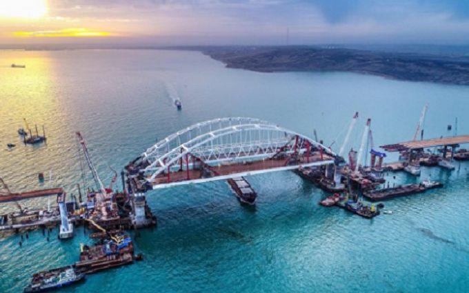 Крымский мост смещается - в России отреагировали