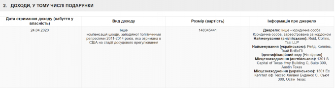 НАЗК взялося за багатомільйонні доходи Тимошенко з США - що відомо (1)