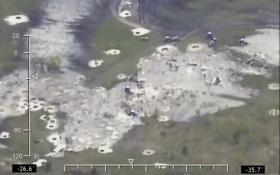 Нові бурштинові копальні: прикордонники показали відео з літака