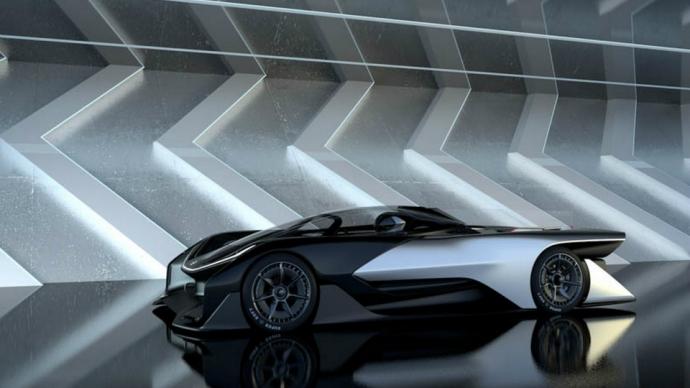 Faraday Future показала концепт своего спортивного электромобиля FFZERO1 (5 фото, видео) (1)