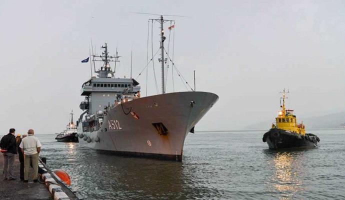 Четыре корабля НАТО вошли в порт Батуми