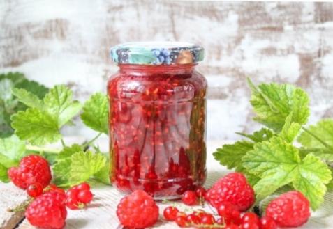 Конфитюр из малины и красной смородины в мультиварке