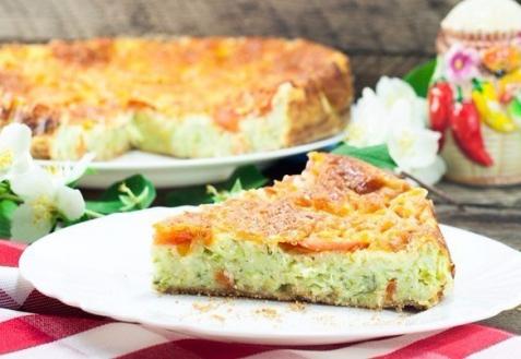 Пирог из кабачков (видео)
