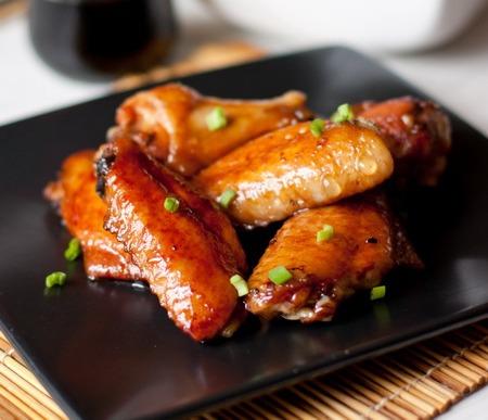 Острые крылышки в азиатском стиле