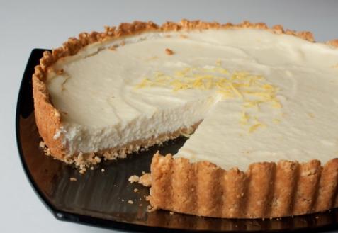 Лимонный тарт с рикоттой