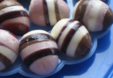 Пасхальные десертные яйца