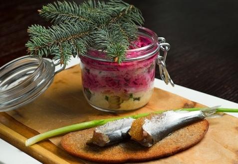 Рецепт на Старый Новый год: Салат
